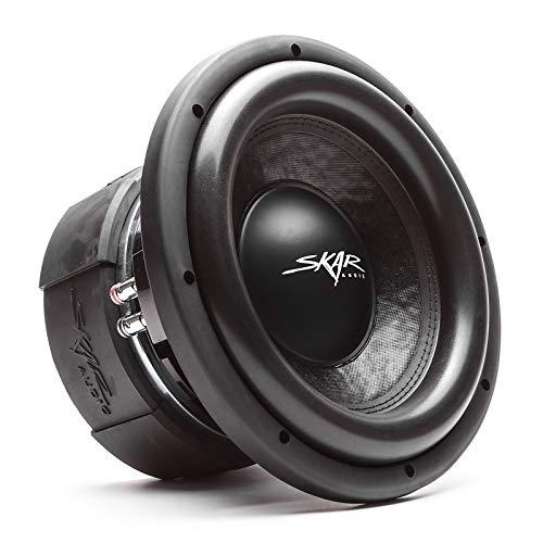 Skar Audio DDX-10 D4 10' 1500 Watt Max Power Dual 4 Ohm Car Subwoofer