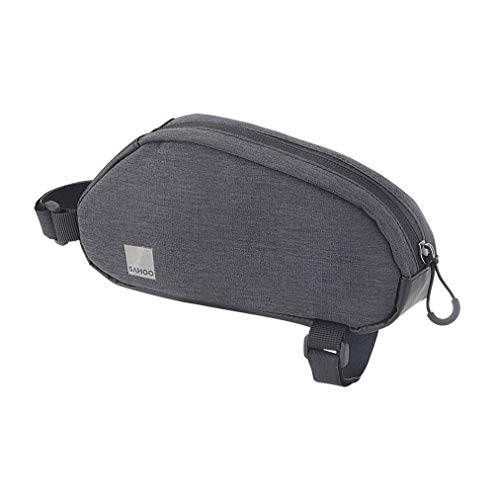 Roswheel 121468 Top Tube Frame Bag, Dark Grey, 1-litre