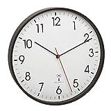 TFA Dostmann 60.3537.01 Horloge Murale analogique Radio-pilotée avec Cadre en...