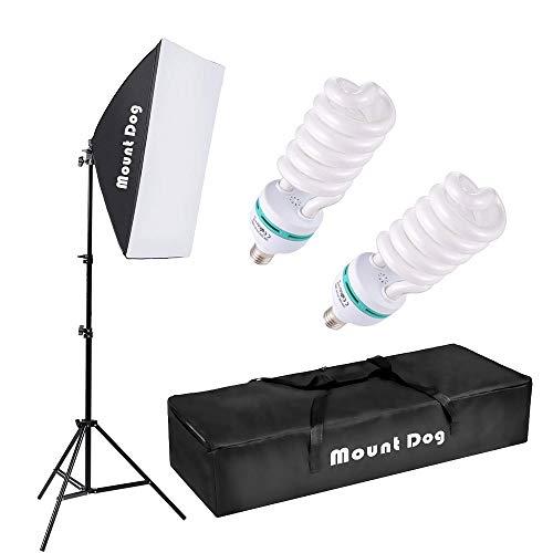 MOUNTDOG Photography Continuous Softbox Lighting Kit 20'X28'...