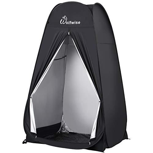WolfWise Portable Tente de Douche Pop Up Toilette Changement Camping Abri...