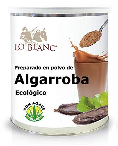 Preparado de Algarroba ecológico Lo Blanc - 375 g en polvo