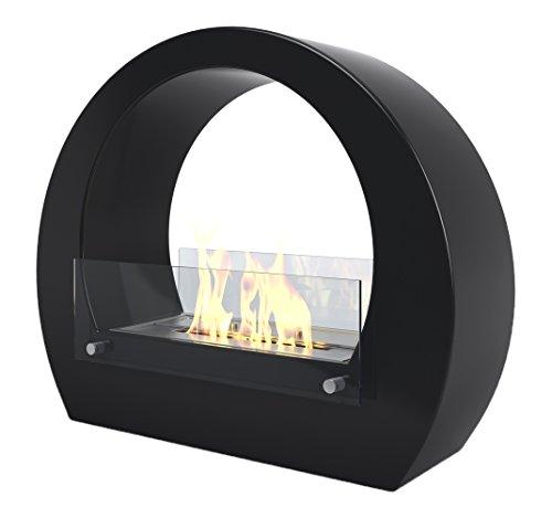 Imagin IMBF13B Bioethanol Fireplace-Boston Black, 2 W