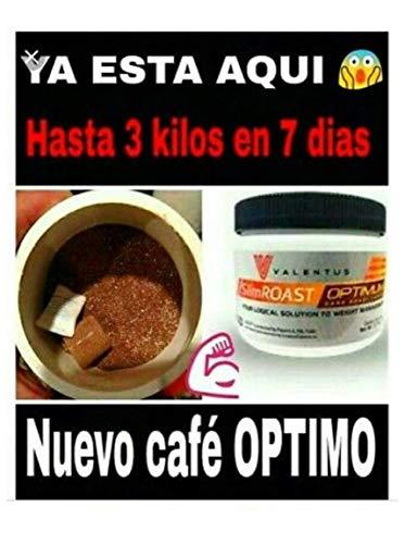 Café Adelgazante Tueste Oscuro, Valentus. SlimRoast Optimum