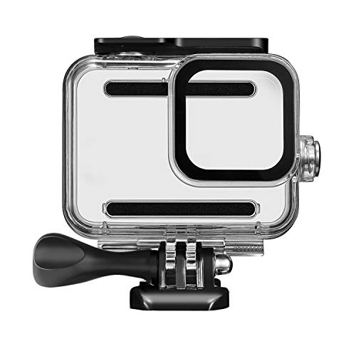 Kupton Custodia impermeabile per GoPro Hero 8 Nero Accessori Custodia Subacquea Struttura Protettiva 60 metri per Go Pro Hero8 Action Camera con accessori staffa