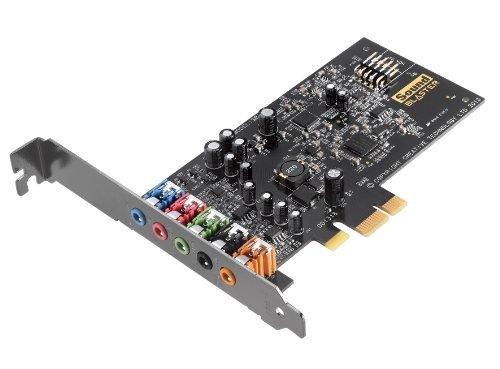 Creative Sound Blaster Audigy FX PCIe-Soundkarte (SBX Pro Studio, 5.1-Surround-Sound, leistungsstarker Kopfhörerverstärker)