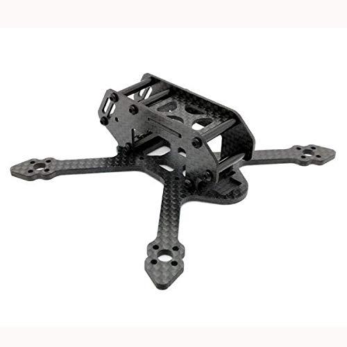 WFBD-CN Modulo elettronico Passaggio 3mm Braccio 3K Fibra di Carbonio Fibra di Carbonio FPV Racing Drone Telame Kit 25g 110ng 110mm