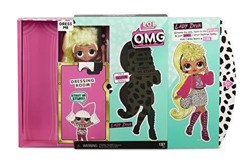 Image 5 - MGA- Poupée-Mannequin L.O.L O.M.G. Lady Diva avec 20 Surprises Toy, 560562, Multicolore