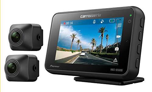 カロッツェリア(パイオニア) 前後2カメラ ドライブレコーダー VREC-DS500DC 高感度 高画質 前後200万画素 ...