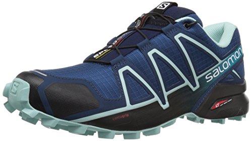 Salomon Damen Trail Running Schuhe, SPEEDCROSS 4 W, Farbe: blau (poseidon/eggshell blue/black) Größe: EU 40 2/3