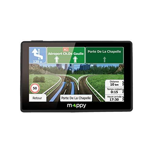 Mappy GPS Ulti E538T (Écran : 5 Pouces - 24 Pays - Mise à jour gratuite...