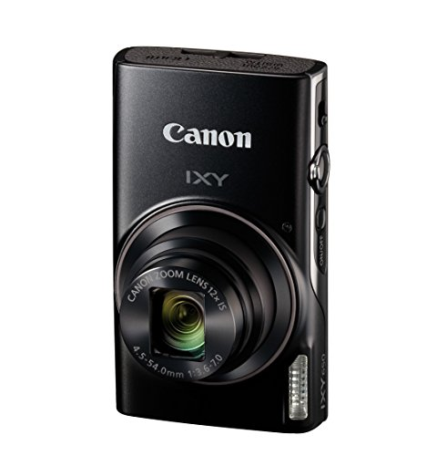 Canon コンパクトデジタルカメラ IXY 650 ブラック 光学12倍ズーム/Wi-Fi対応 IXY650BK