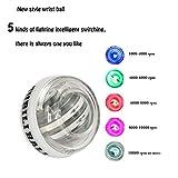 OCTTN 5 Colorfull AUTO Start 2.0 Power Ball, Wrist Trainer Forearm Exerciser Ball, Wrist Exercises Force Wrist Strengthener Workout ball, Toy Spinner Gyroscope Ball