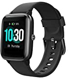 Fitness Tracker, Smart Watch for Android Phones iPhone Compatible Step Tracker Heart Rate Monitor, IP68 Waterproof Fitness Watch Sleep Monitor, Calorie Counter, Pedometer for Men Women