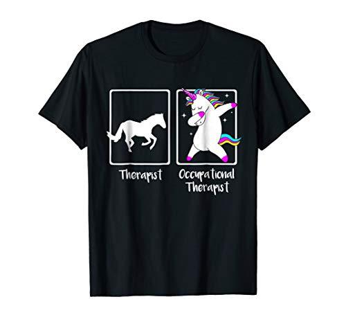 Dabbing Unicorn Occupational Therapist Shirt Cool OT Gift