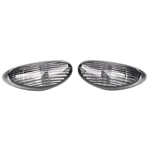 GZYF Smoke Front Turn Signals Lens Indicators Compatible with Suzuki KATANA (650/700) 1997 1998 1999 2000 2001 2002 2003 2004 2005 2006 2007 GSXF