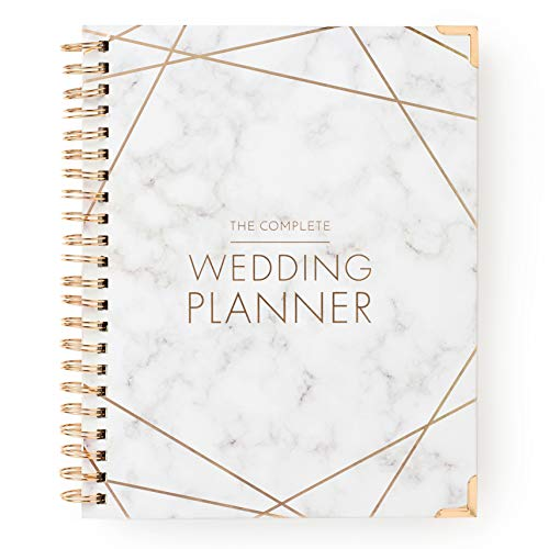 Wedding Planner Marble Gold - Undated Bridal Planning Diary...