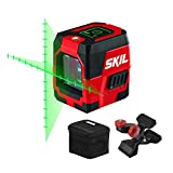 SKIL 65ft. Green Self-leveling Cross Line Laser Level with Projected Measuring Marks, Rechargeable...