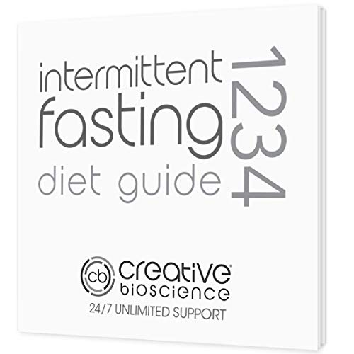 1234 Keto Diet Drops Weight Loss for Women & Men - 3X Keto Complex - Intermittent Fasting Book & Ketogenic Weight Loss Plan by Creative Bioscience, 2 Fl Oz (4 Count) 4
