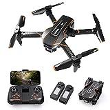 Q10 Mini Drone avec Camera 720P HD WIFI FPV Télécommande,Pliable Drone Enfant...