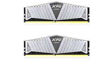 XPG Z1 DDR4 3000MHz (PC4 24000) 16GB (2x8GB) Gaming Memory Modules, Silver (AX4U300038G16-DSZ1)