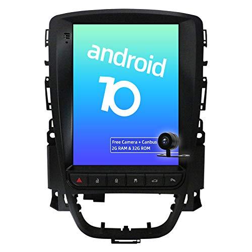 JOYX Android 10 Autoradio Per Excelle GT/XT Astra J (2006-2016) - [2G+32G] - 9.7 Pollici - Telecamera Canbus Gratuiti - 2 DIN - Supporto DAB 4G WLAN Bluetooth Carplay Volante Mirrorlink Android Auto