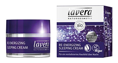 lavera Re-Energizing Sleeping Cream, Bio Pflanzenwirkstoffe, Natural und...