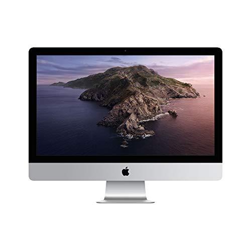最新モデル Apple iMac (27インチ, Retina 5Kディスプレイモデル, 3.7GHz 6コア第9世代Intel Core i5プロセ...