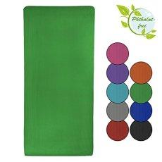 Tappetino da Yoga in taglii e colori differenti materassino da pilates, ginnastica, sport fitness fisio, morbido, Colore:Power Red;Taglia:180 x 60 x 1.5 cm
