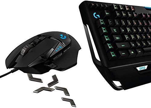 福袋 Logicool G ゲーミングマウス/ゲーミングキーボード セット G502RGBhr + G910r