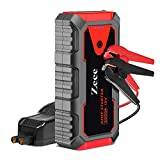 Zeee Car Jump Starter Portable Battery Booster 12V 23000mAh 2500A Peak (up to 8.0L Gas or 6.5L Diesel Engine) with Intelligent Jumper Cable, Charging Port