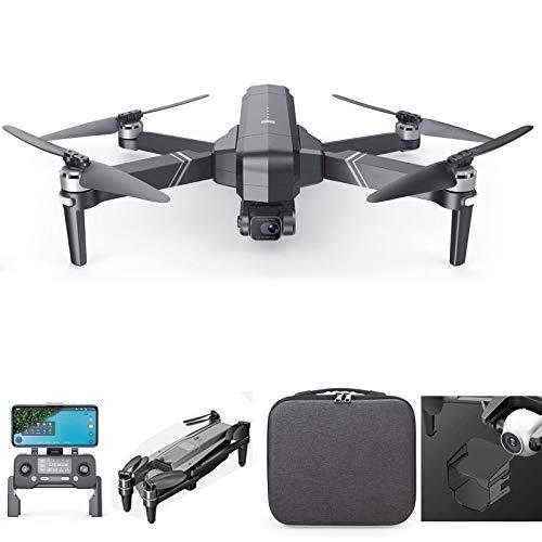 BoJayh Drone 4K HD con Zoom 50x Drone Aereo Ad Alta Definizione Pieghevole A 3 Assi Distanza del Telecomando 400O Metri Velivolo Marino Resistente al Vento A 3 Marce di Livello 7 GP Drone