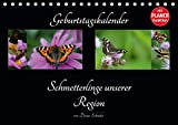 Geburtstagskalender Schmetterlinge unserer Region (Tischkalender 2020 DIN A5 quer)