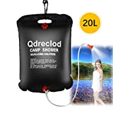 Qdreclod Sac de Douche Solaire Camping 20L Voyage...