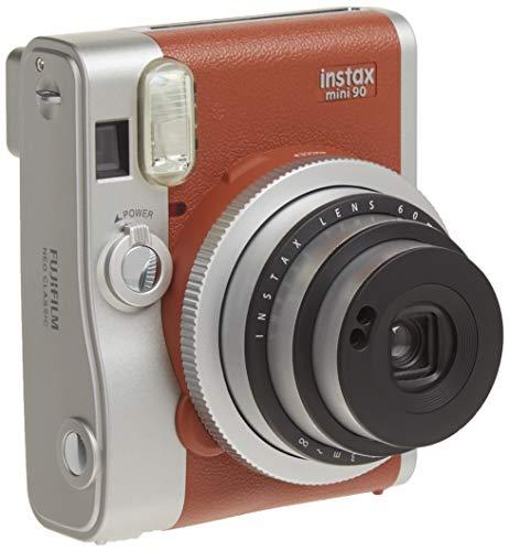 FUJIFILM インスタントカメラ チェキ instax mini 90 ネオクラシック ブラウン INSTAX MINI 90 BROWN