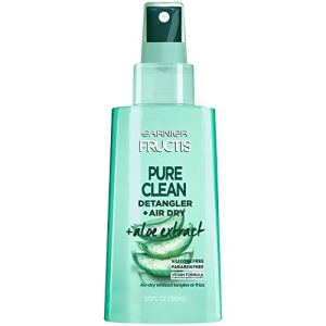 Garnier Hair Care Fructis Pure Clean Detangler + Air Dry, No Tangles or Frizz, Silicone Free and Paraben Freem Made With… 1