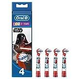 Oral-B Kids Brossettes De Rechange Star Wars x4, Enfants de 3 ans et plus,...