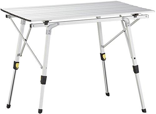 Uquip Variety M - Tavolo Pieghevole da Campeggio in Alluminio (89 x 53cm)