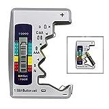 iwobi Digital Universal Battery Tester, pour Pile Bouton AAA/AA/C/D 1,5 V-9...