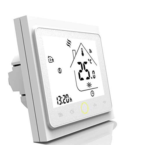 Thermostat WiFi, régulateur de température pour plancher chauffant électrique, Compatible avec Alexa, Google Home, IFTTT, 16A