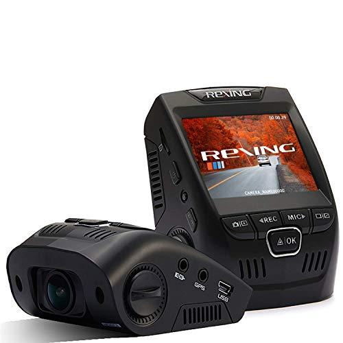 "Rexing V1 Basic Dash Cam 1080P FHD DVR Car Driving Recorder, 2.4"" LCD Screen 170°Wide Angle, G-Sensor, WDR, Parking Monitor, Loop Recording (Renewed)"