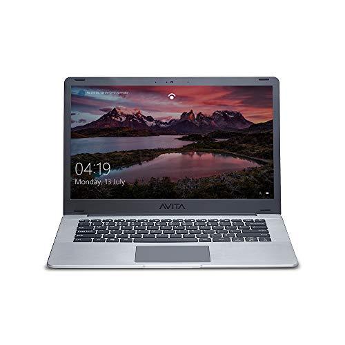 AVITA PURA NS14A6INT441-SGGYB 14-inch Laptop (8th Gen Intel Core i3-8145U / 4 GB RAM / 256 GB SSD/Windows 10 Home/FHD/Intel UHD Graphics 620/1.34Kg), Space Grey with 3-in-1 Grey Sleeve