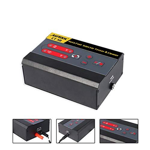 AUTOOL Car Fuel Injector Tester Fuel Pump Pressure Test Automotive Diesel Gas Injectors Nozzles Unlimited Pulse Cleaner