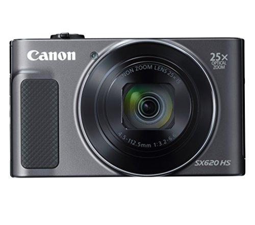 Canon コンパクトデジタルカメラ Power Shot SX620HS ブラック 光学25倍ズーム PSSX620HS(BK)