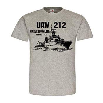 Copytec UAW 212 Moulin à légumes projet 133 1 Navire Général Marine DDR #24857 - Gris - XX-Large