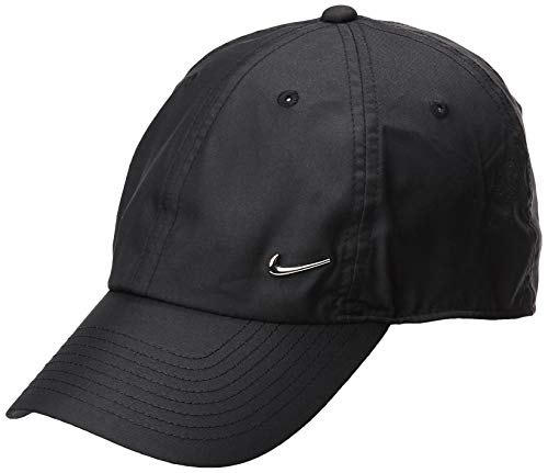 Nike U Nk H86 Cap Metal Swoosh Hat, Unisex Adulto, Negro...