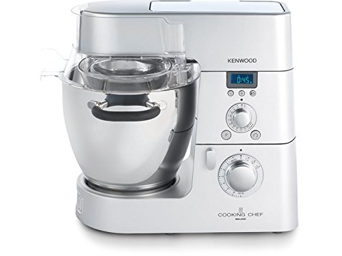Kenwood KM082 Cooking Chef, 1500 W, 6.7 Litri, Acciaio Inossidabile, Argento