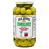 Old South Tomolives, Pickled Green Tomatoes, 32 Ounces (1 Each)