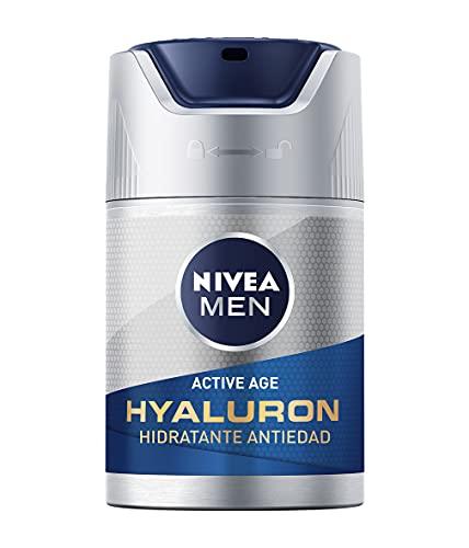 NIVEA MEN Hyaluron Crema Hidratante Antiedad FP15 (1 x 50 ml