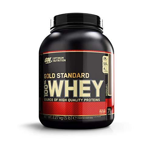 Optimum Nutrition 100% Whey Gold Standard, Proteine in Polvere per lo Sviluppo Muscolare con Glutammina e Aminoacidi, Cioccolato al Latte, 2.22 kg - 2.27 kg, 71 Porzioni
